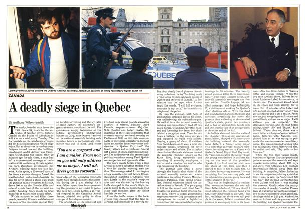 Article Preview: A deadly siege in Quebec, May 1984 | Maclean's