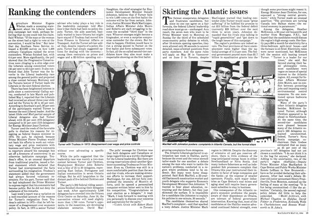 Article Preview: Ranking the contenders, May 1984 | Maclean's