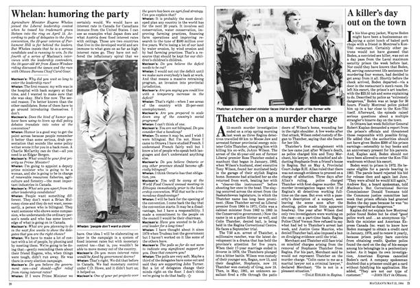 Article Preview: Thatcher on a murder charge, May 1984 | Maclean's