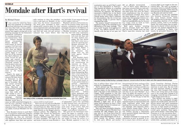 Article Preview: Mondale after Hart's revival, May 1984 | Maclean's