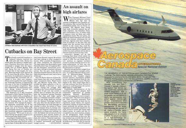 Article Preview: An assault on high airfares, May 1984 | Maclean's