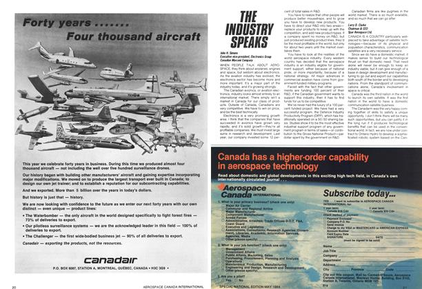 Article Preview: THE INDUSTRY SPEAKS, May 1984 | Maclean's