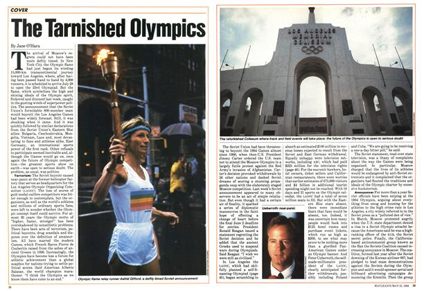 Article Preview: The Tarnished Olympics, May 1984 | Maclean's