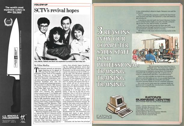 Article Preview: SCTV's revival hopes, May 1984 | Maclean's