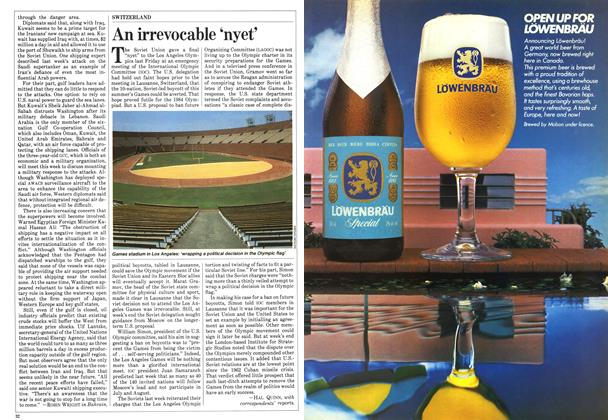 Article Preview: An irrevocable 'nyet', May 1984 | Maclean's
