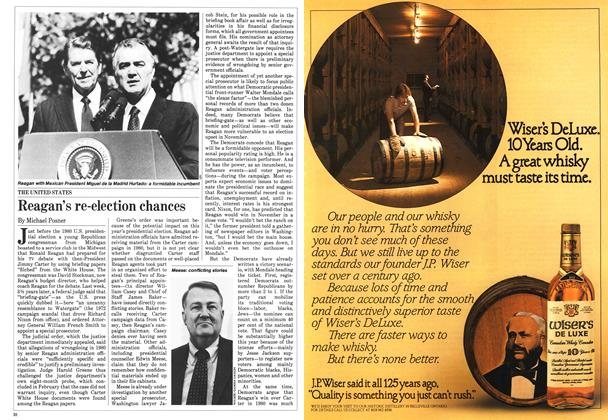 Article Preview: Reagan's re-election chances, May 1984 | Maclean's