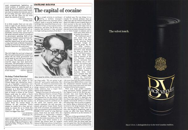 Article Preview: The capital of cocaine, May 1984 | Maclean's