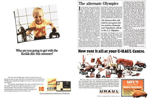 Article Preview: The alternate Olympics, June 1984 | Maclean's