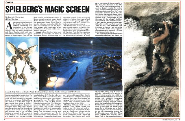 Article Preview: SPIELBERG'S MAGIC SCREEN, June 1984 | Maclean's