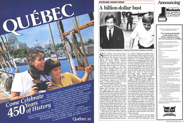 Article Preview: A billion-dollar bust, June 1984 | Maclean's