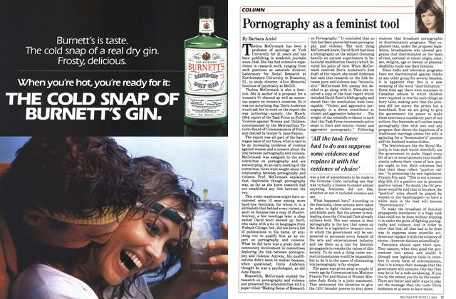 Article Preview: Pornography as a feminist tool, June 1984 | Maclean's