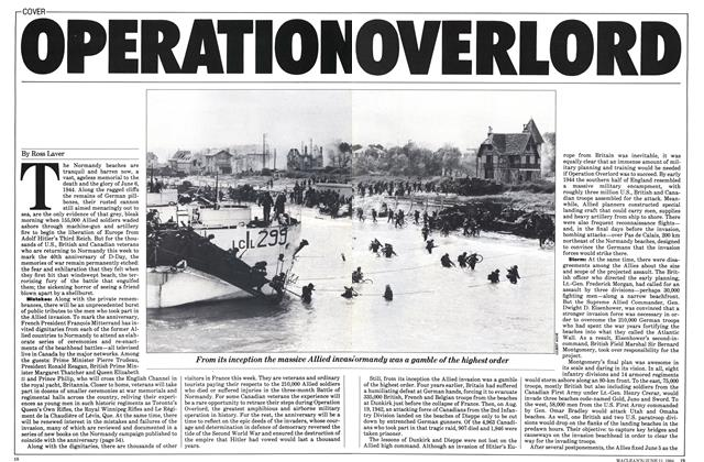 Article Preview: OPERATION OVERLORD, June 1984 | Maclean's