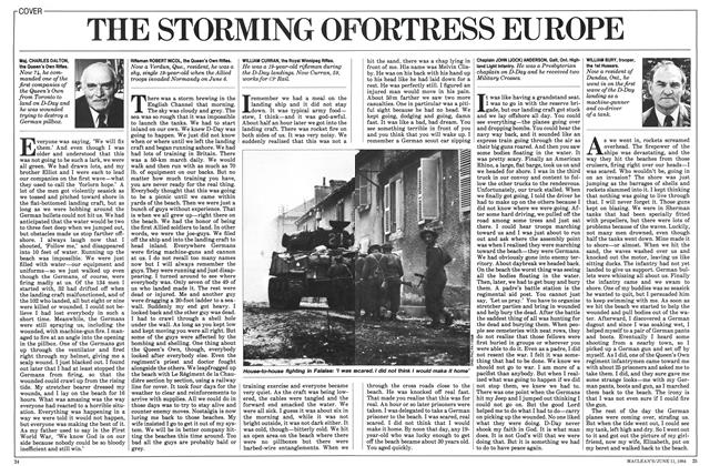 Article Preview: THE STORMING OFORTRESS EUROPE, June 1984 | Maclean's