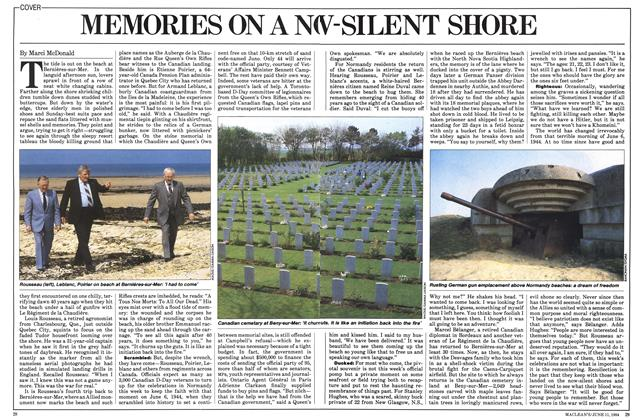 Article Preview: MEMORIES ON A N -SILENT SHORE, June 1984 | Maclean's