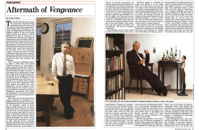 Article Preview: Aftermath of Vengeance, June 1984 | Maclean's