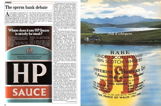 Article Preview: The sperm bank debate, June 1984 | Maclean's