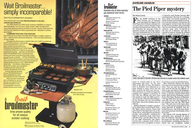 Article Preview: The Pied Piper mystery, June 1984 | Maclean's