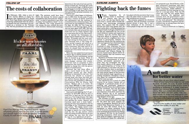 Article Preview: The costs of collaboration, June 1984 | Maclean's