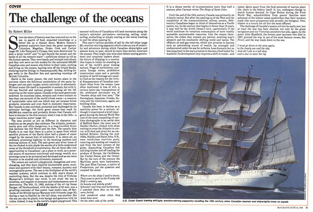 Article Preview: The challenge of the oceans, June 1984 | Maclean's