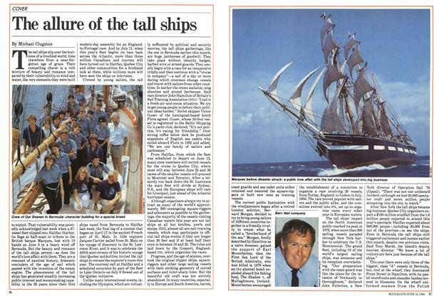 Article Preview: The allure of the tall ships, June 1984 | Maclean's