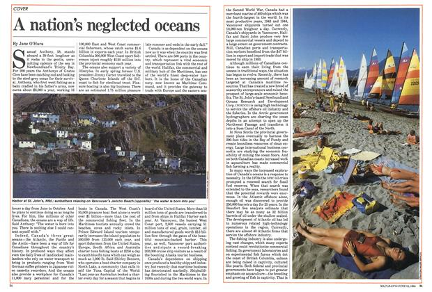 Article Preview: A nation's neglected oceans, June 1984 | Maclean's