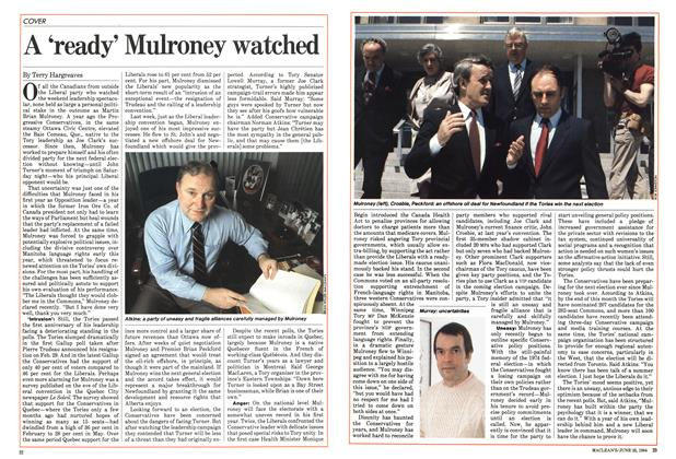 Article Preview: A 'ready' Mulroney watched, June 1984 | Maclean's