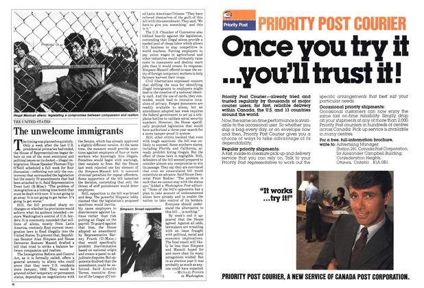 Article Preview: The unwelcome immigrants, June 1984 | Maclean's