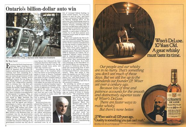 Article Preview: Ontario's billion-dollar auto win, June 1984 | Maclean's