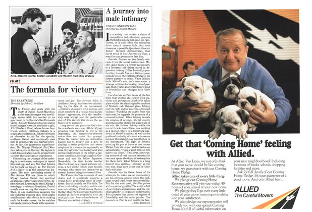 Article Preview: A journey into male intimacy, June 1984 | Maclean's