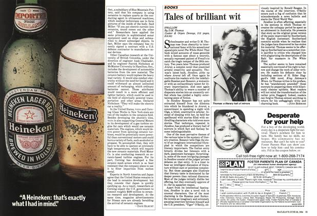 Article Preview: Tales of brilliant wit, June 1984 | Maclean's