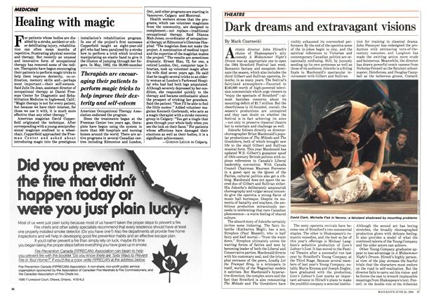 Article Preview: Healing with magic, June 1984 | Maclean's