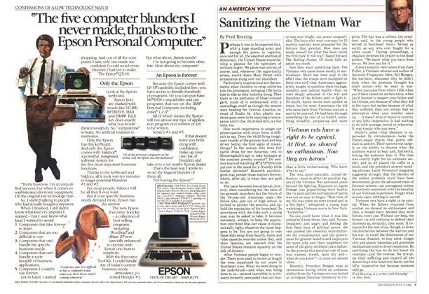 Article Preview: Sanitizing the Vietnam War, July 1984 | Maclean's