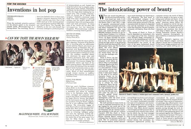 Article Preview: Inventions in hot pop, JULY 9,1984 1984 | Maclean's
