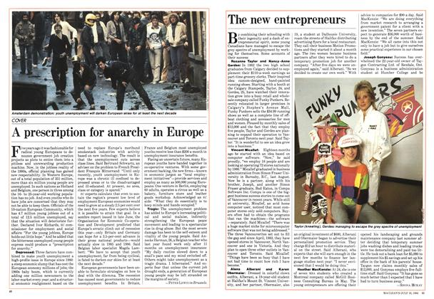 Article Preview: A prescription for anarchy in Europe, July 1984 | Maclean's