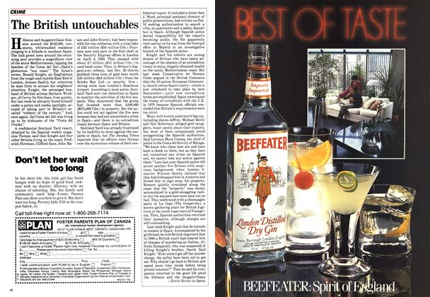 Article Preview: The British untouchables, July 1984 | Maclean's