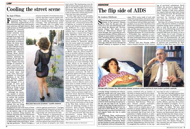 Article Preview: Cooling the street scene, July 1984 | Maclean's