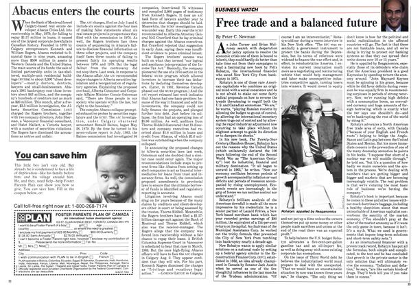 Article Preview: Abacus enters the courts, July 30 1984 | Maclean's