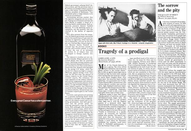Article Preview: Tragedy of a prodigal, July 30 1984 | Maclean's