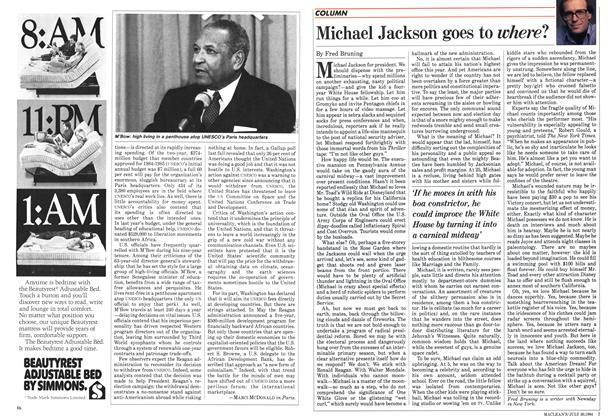 Article Preview: Michael Jackson goes to where?, July 30 1984 | Maclean's