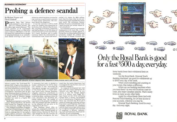 Article Preview: Probing a defence scandal, August 1984 | Maclean's