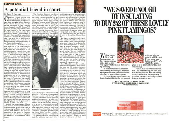 Article Preview: A potential friend in court, August 1984 | Maclean's