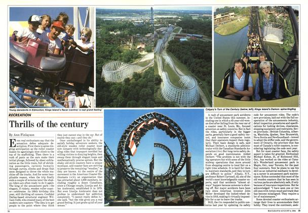 Article Preview: Thrills of the century, August 1984 | Maclean's
