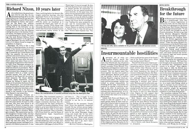 Article Preview: Breakthrough for the future, August 1984 | Maclean's