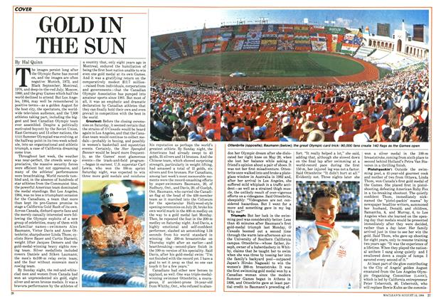 Article Preview: GOLDIN THE SUN, August 1984 | Maclean's