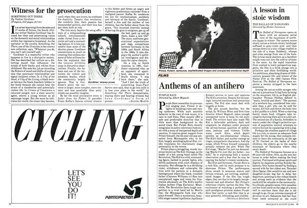 Article Preview: Witness for the prosecution, August 1984 | Maclean's