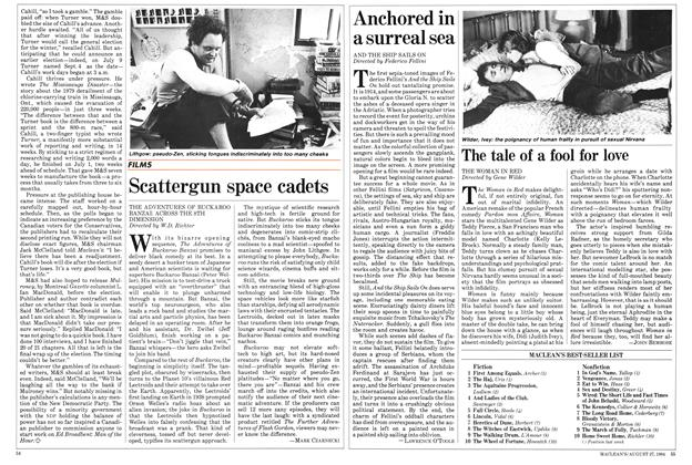 Article Preview: The tale of a fool for love, August 1984 | Maclean's