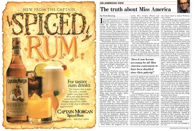 Article Preview: The truth about Miss America, August 1984 | Maclean's