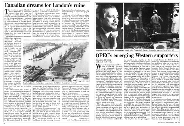 Article Preview: Canadian dreams for London's ruins, September 1984 | Maclean's