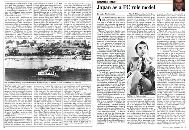 Article Preview: Japan as a PC role model, September 1984   Maclean's