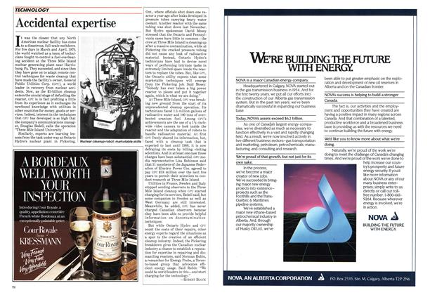 Article Preview: Accidental expertise, September 1984 | Maclean's